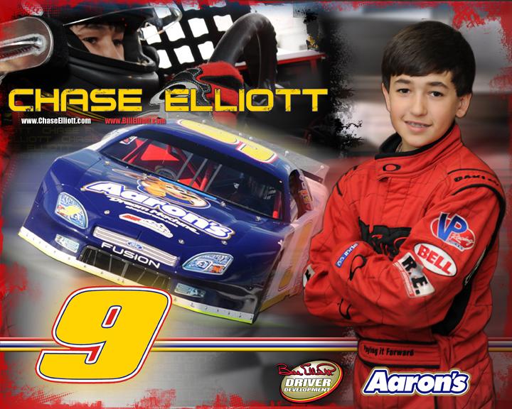 Chase Elliott Hero Card 2010
