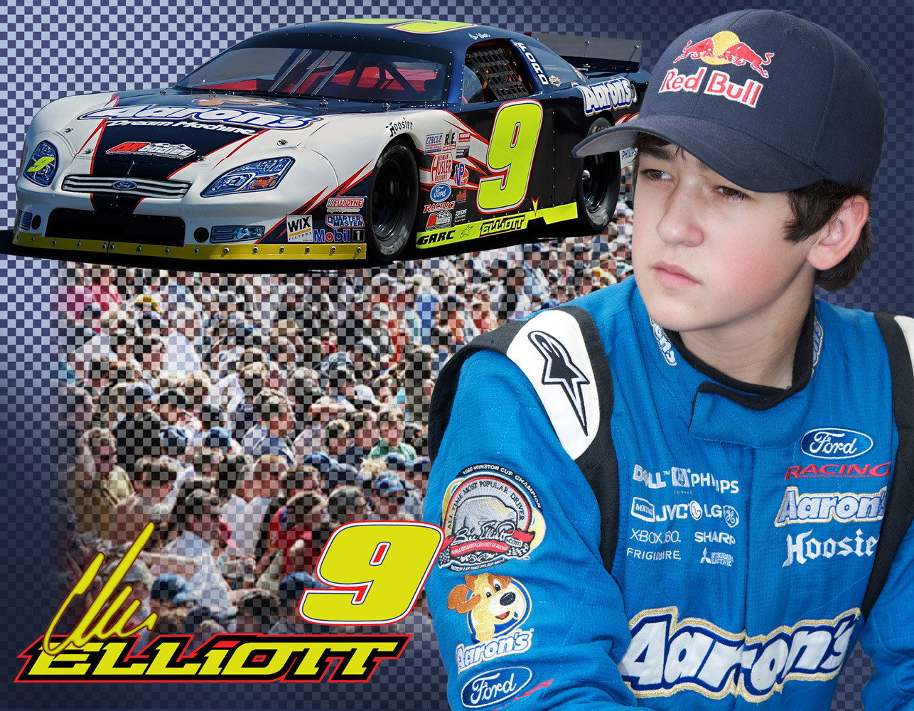 2010 Chase Elliott Hero Card