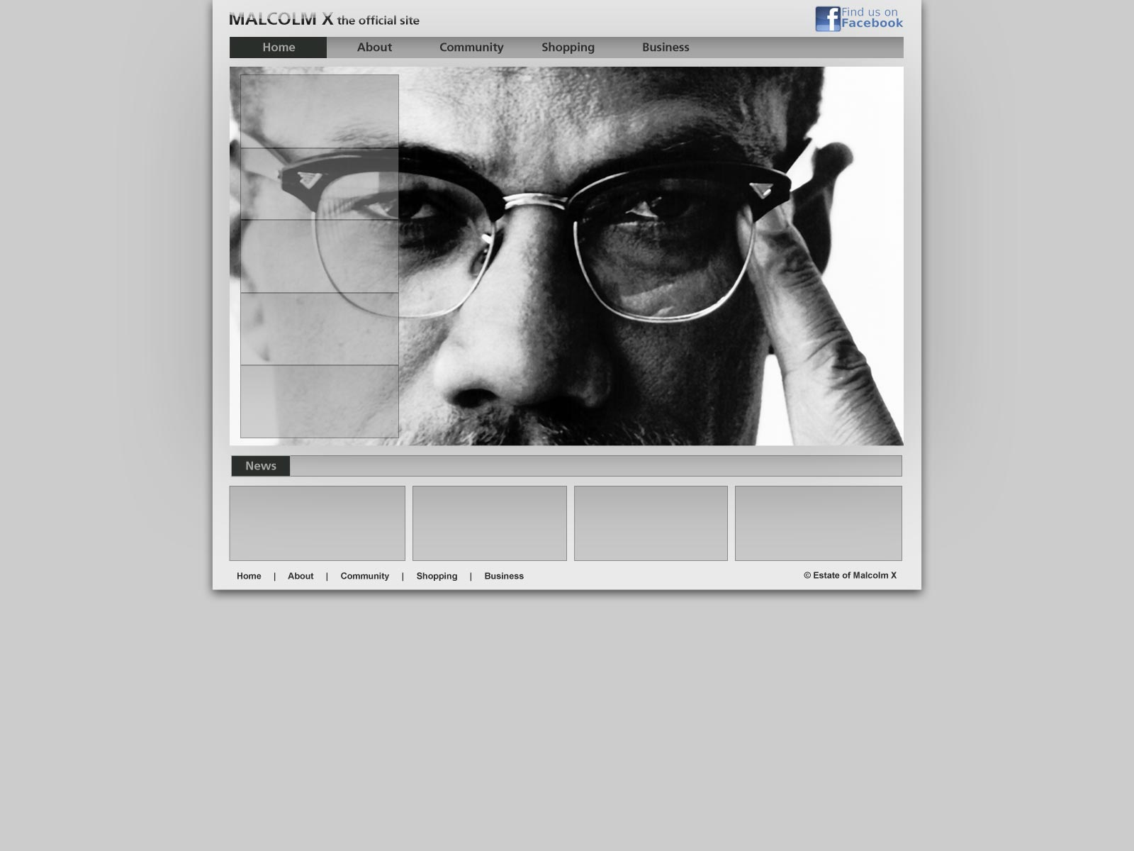 Malcolm X - mock