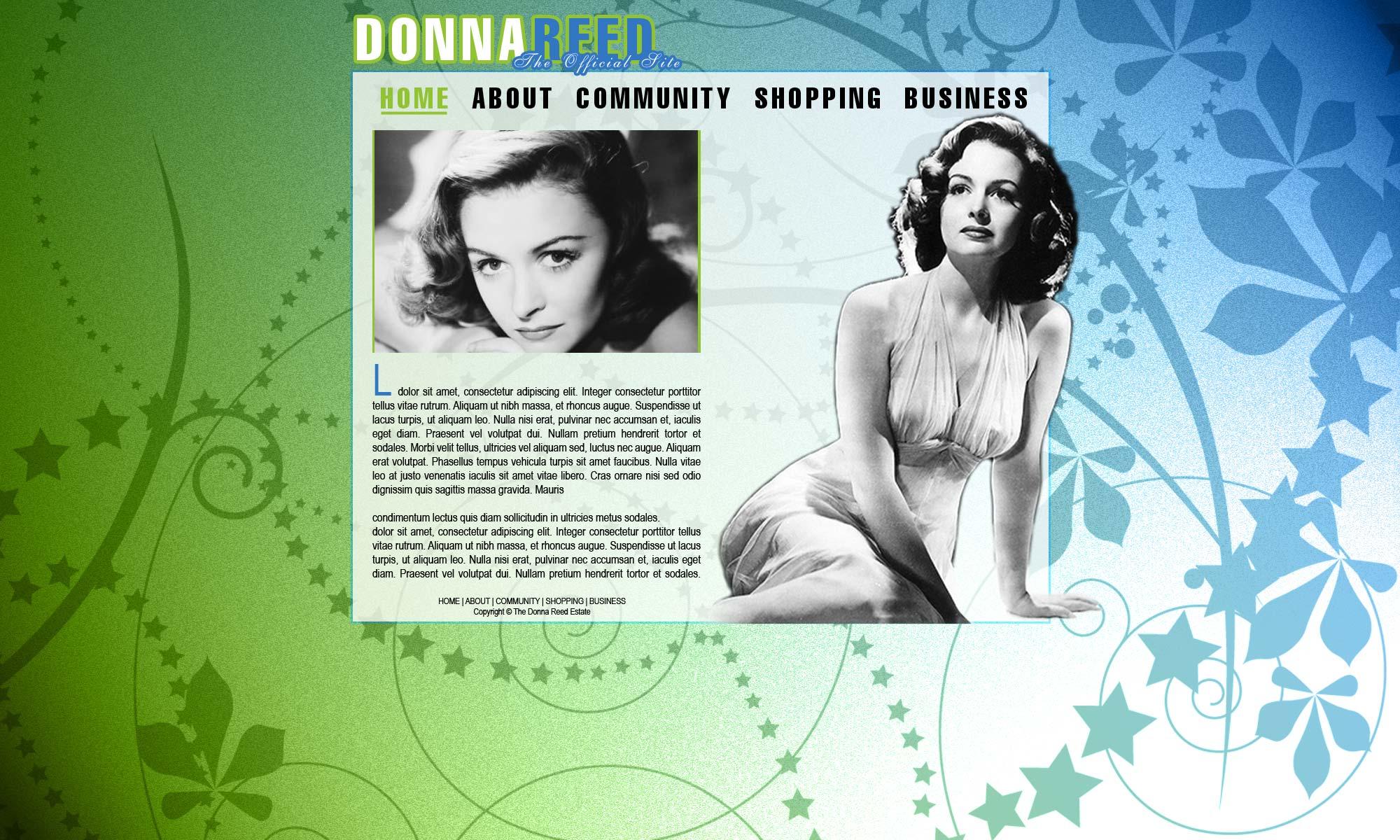 Donna Reed Mock 1