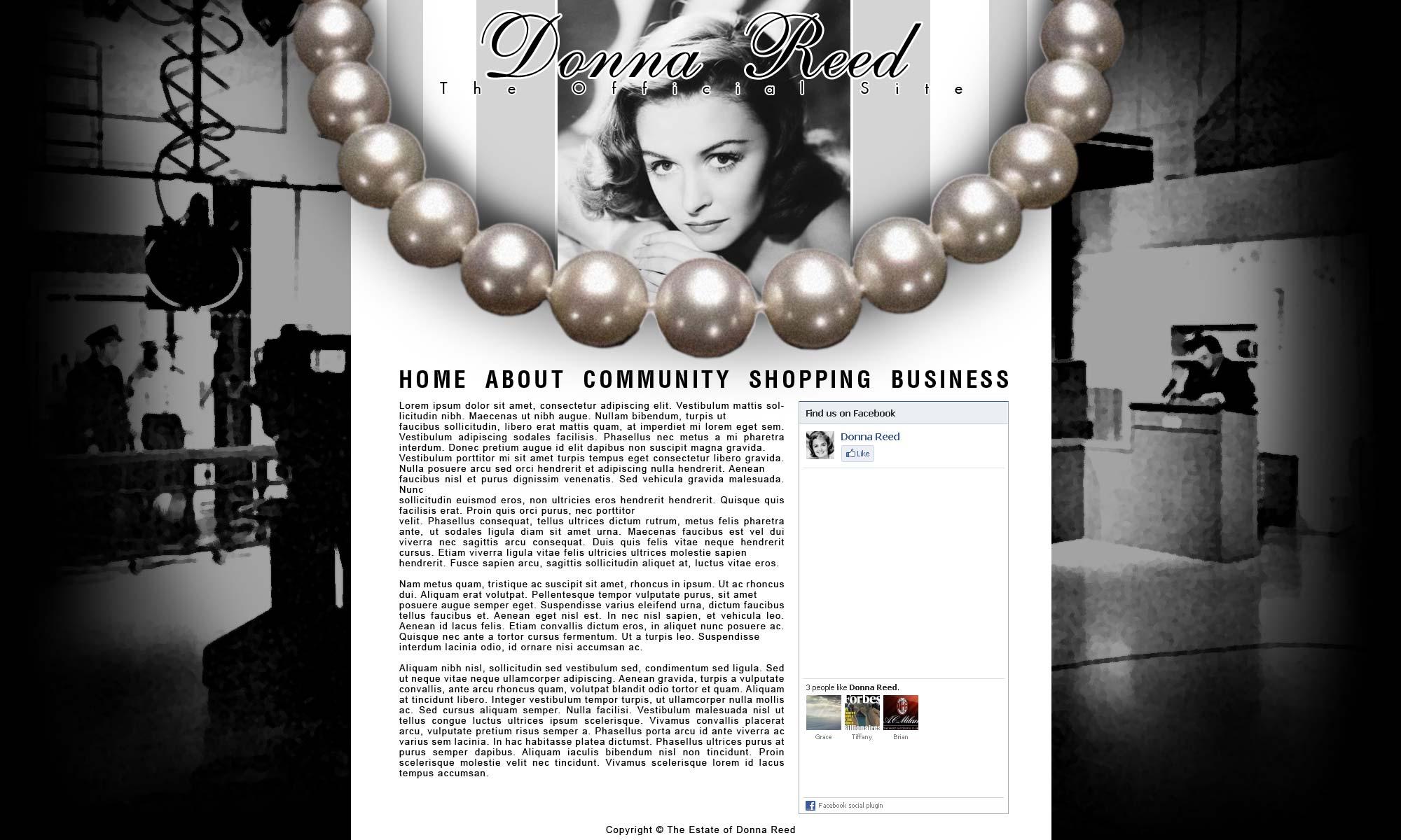 Donna Reed Mock 2