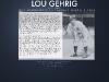 Lou Gehrig - mock